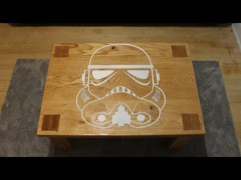 Star Wars rouge one coffee table