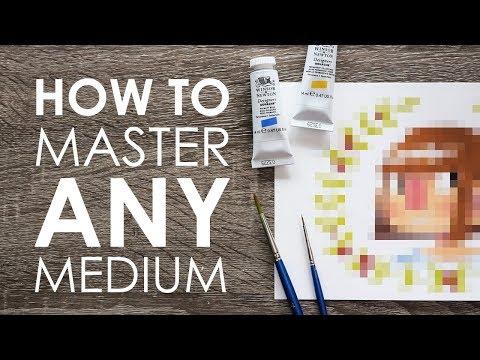4 TIPS TO MASTER ANY MEDIUM - Finally Trying  Gouache!