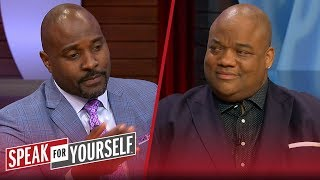 Whitlock & Wiley discuss if Tom Brady or LeBron has been better for their sport | SPEAK FOR YOURSELF