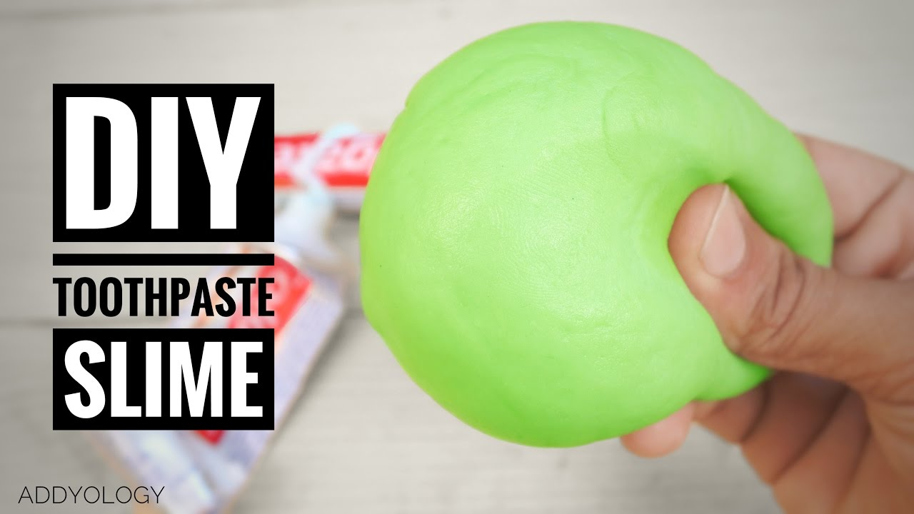 How To Make Toothpaste Slime Without Glue  Very Simple