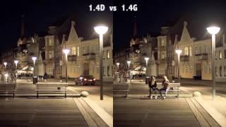 Nikon 50mm 1.4G vs 1.4D vs 1.8G vs 1.8D lens test in low light
