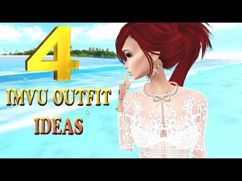4 IMVU OUTFIT IDEAS | January 2016 | Briunet ♥