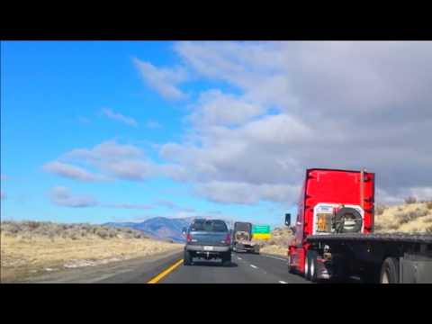California - Highway 70 West - TImelapse - Dec. 2017