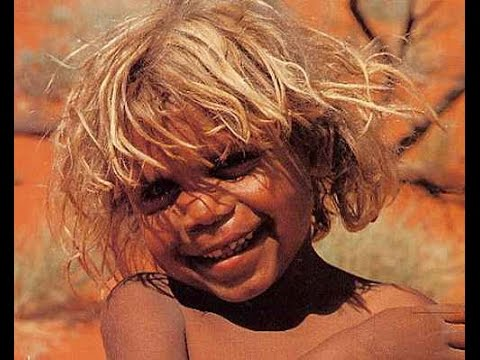 Why Australian Aboriginals have blonde hair