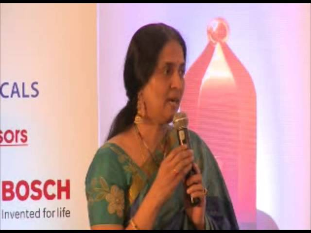 Ms. Chitra Ramkrishna  Managing Director   CEO  NSE - Speech at CII-EXIM Bank Award Ceremony - YouTube