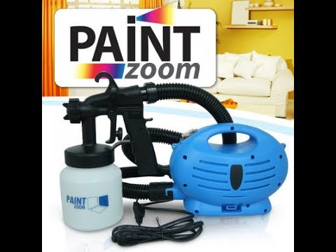 Wall fan car etc Color machine/Paint zoom ultimate 4 in 1 oil paint spray