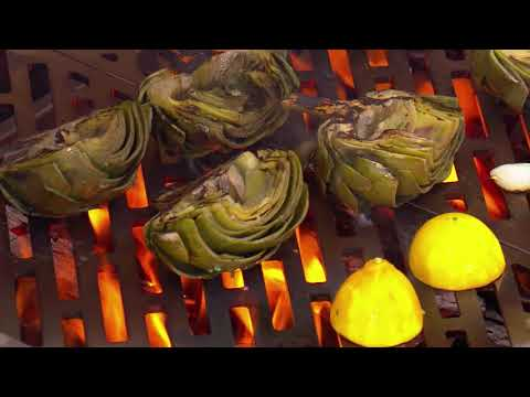 Steven Raichlen's Wood-Grilled Artichokes on the Kalamazoo ...