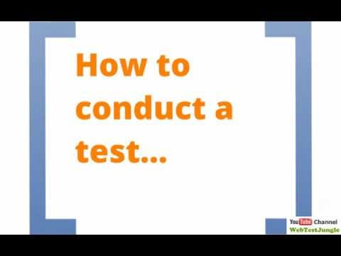 What Is Website Usability Testing - Short Video Tutorial On Website Usability Testing