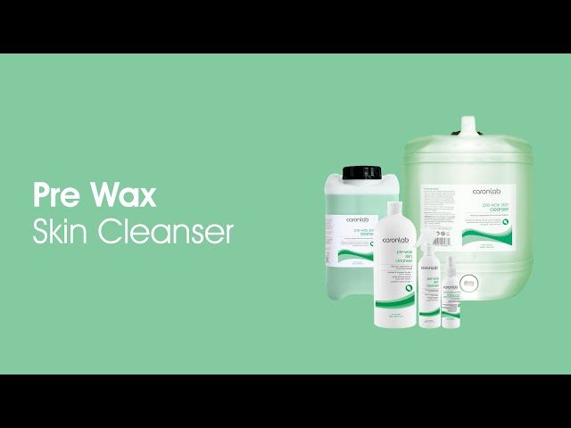 Pre Wax Skin Cleanser