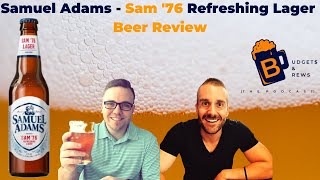 Beer Review: Samuel Adams - Sam '76 Refreshing Lager