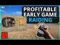 DAY ONE RAIDING Is ALWAYS So PROFITABLE Rust Solo Survival Gameplay Ep1 New Series mp3