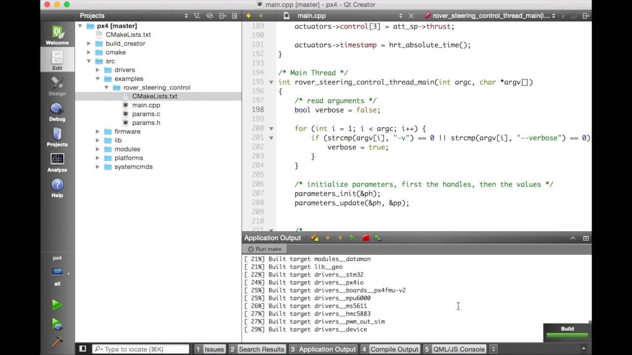 Building the Code · PX4 v1 9 0 Developer Guide