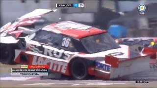 Actc (Tcp) 2018. Final Autódromo Viedma. Gustavo Micheloud & Pablo Costanzo Crash