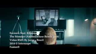 Eminem Feat.  Rihanna - The Monster (AndresDeluxe Remix 2014) Video RMX By Jorge Brazil
