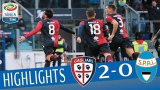 Cagliari - Spal 2-0 - Highlights - Giornata 23 - Serie A TIM 2017/18
