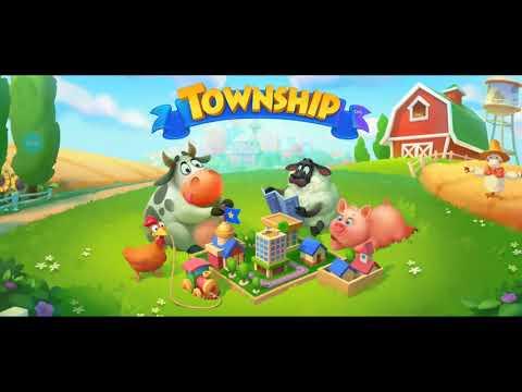 ТАУНШИП город и ферма #2320Знакомство с МОИМ городом, Детское видео Игровое видео