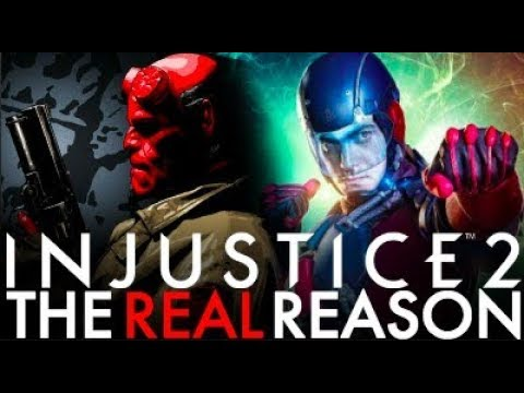 Injustice 2 - The REAL Reason Atom Was Revealed Before Hellboy!