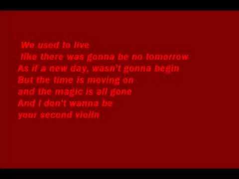 second violin by bagatelle wit lyrics