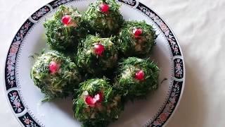 СЕЛЕДОЧНЫЕ ШАРИКИ - отличная закуска на новогоднем столе