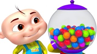 Learn Colours With Ball Machine | Colors For Kids | Videos For Toddlers