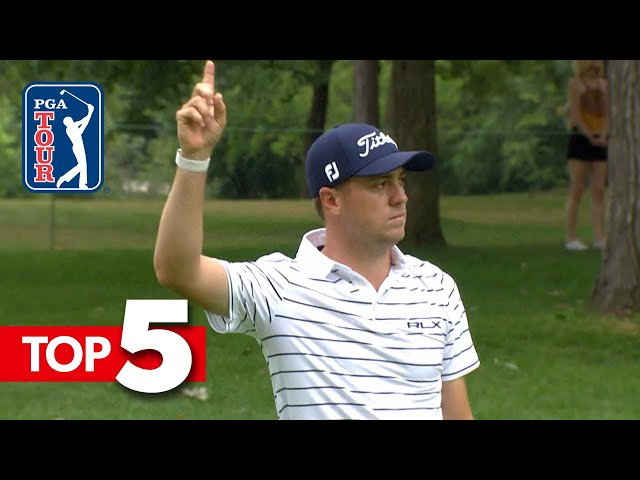 Top-5 Shots of the Week | BMW Championship