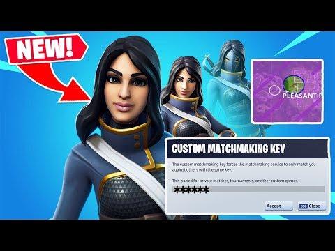 how to remove custom matchmaking key fortnite