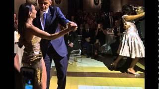 رهاب يهدد العالم وأوباما يرقص التانغو في الأرجنتين - رقصة تاريخية