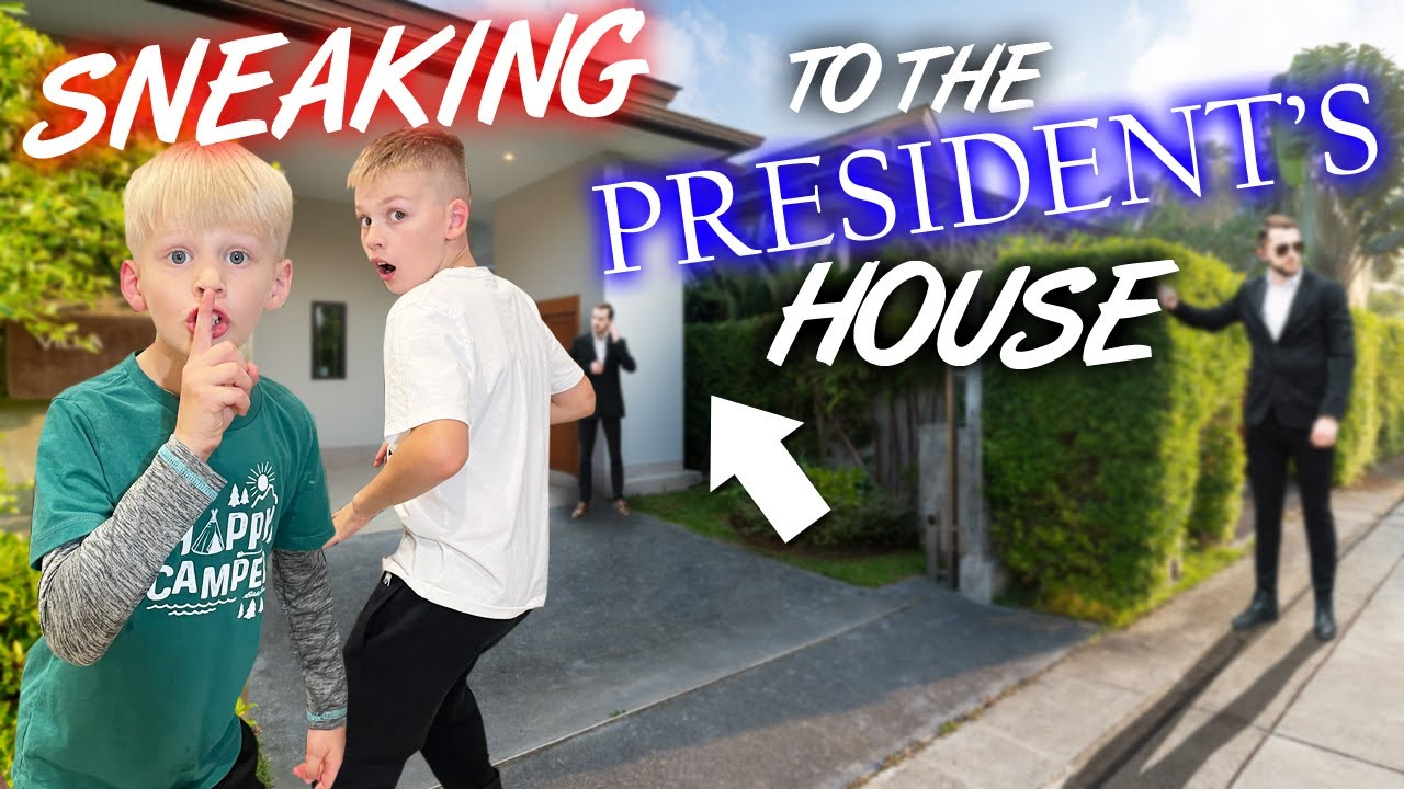 We Drove to the President's Actual House! (Not the White House)