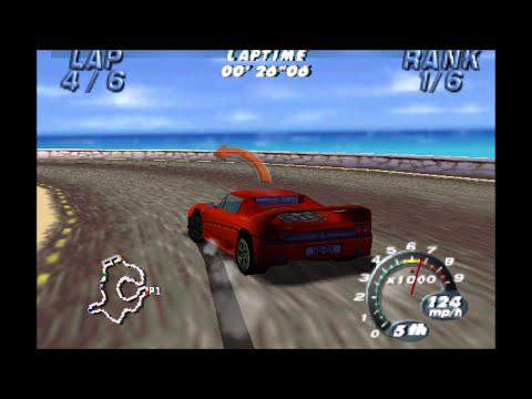 Automobili Lamborghini (N64) - Championship - Novice Difficulty