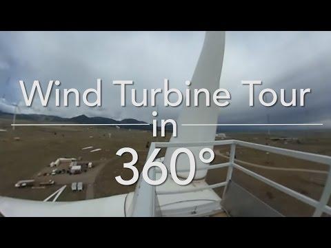 Wind Turbine Tour in 360°