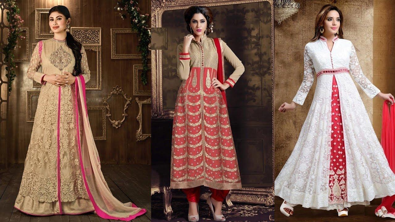 25365f46cf Net Salwar Kameez Designs 2017 - Latest Collection - YouTube