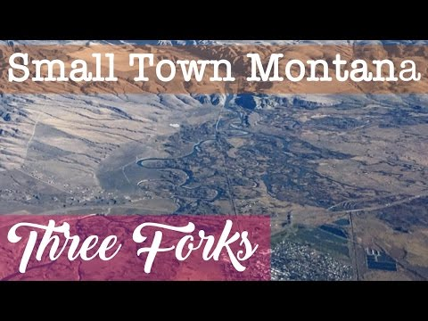 Three Forks, Montana | Driving around Three Forks, MT