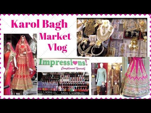 Karolbagh Market Vlog I Impressions I Ajmal Khan Road I Travel with Me I Simi Bella