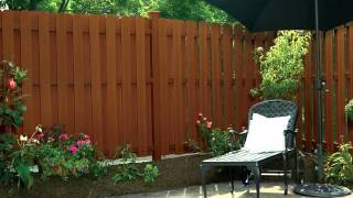 Pictures of plastic wood fence