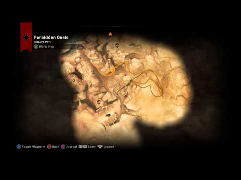 Dragon Age: Inquisition - Holding The Oasis: Establish Camps (Dulacs Path) Miner Chat Sequence PS4