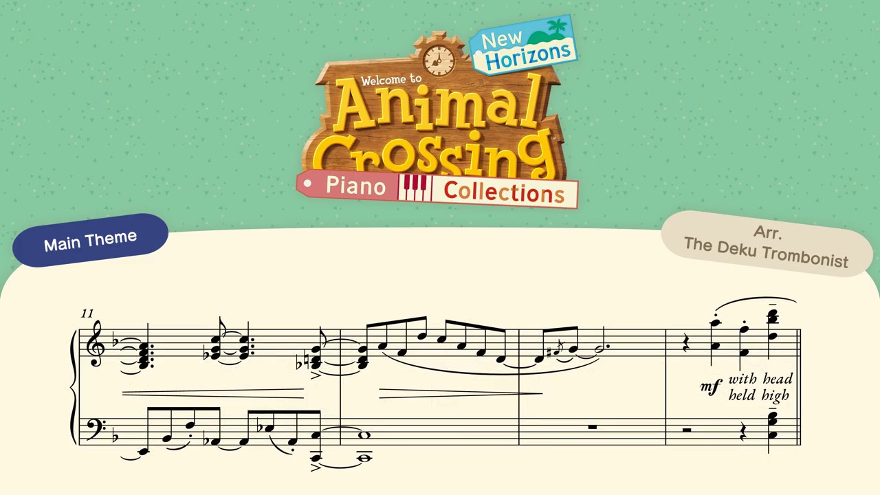 Animal Crossing New Leaf Bubblegum K K Aircheck Piano