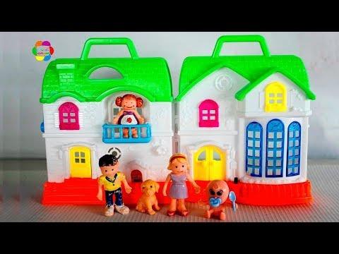 لعبة بيت العروسة الصغيرة للبنات والاولاد اجمل العاب العرائس والدمى للاطفال Doll House Toy Set