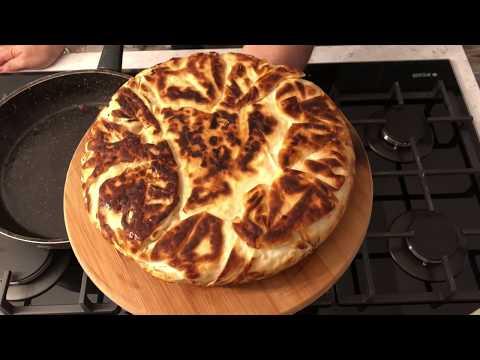Piyasa Börekçilerinden Daha Güzel Yapımı Çok Kolay Tava Böreği | Easy To-do Pan Frıed Pastry