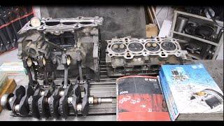 Ford Focus.Ремонт двигуна #Zetec