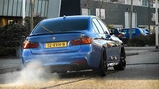 Akrapovic BMW 335i F30 & Audi RS5 - LOUD Revs & Accelerations!