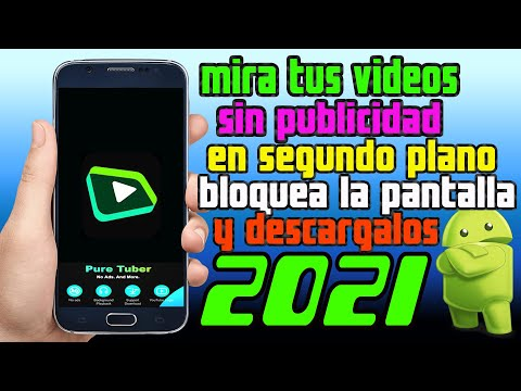 ✅DESCARGAR Pure Tuber - Sin Ads, Premium Gratis ANDROID alternativa a youtube vanced 2021