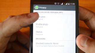 """How to Disable """"last seen"""" Information in WhatsApp"""