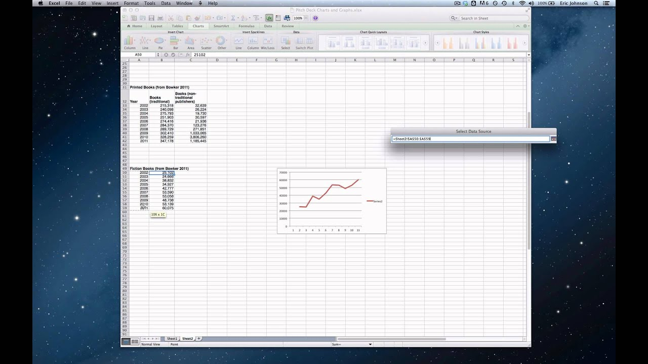 How to Create a Simple Line Graph in Excel