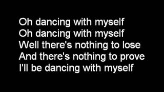 Billy Idol   Dancing With Myself Lyrics  MJ