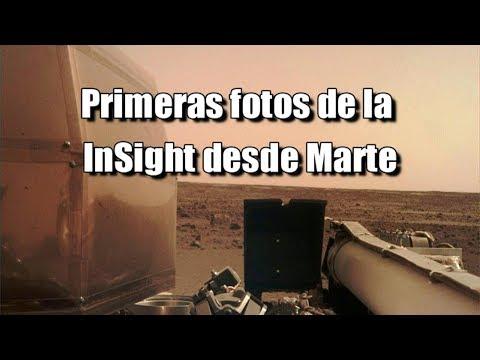 MARTE! Primeras fotos de la InSight e Imagen del Día de la NASA las dunas azules del cráter Wirtz
