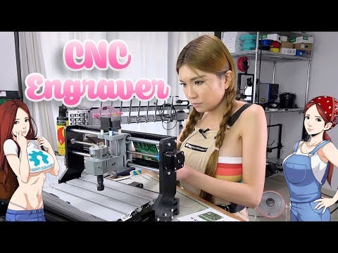 CNC Engraver Unboxing and Assembly- the SainSmart Genmitsu
