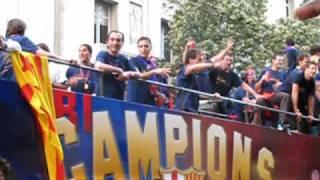 Barcelona Soccer Celebration