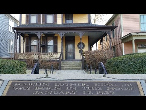 Martin Luther King Jr Birth Home And Final Resting Place