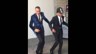 chance the rapper and stephen curry jones bbq foot massage