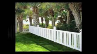 Contemporary Picket Fence | Vinyl Picket Fence